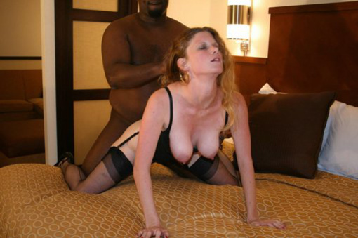 Amateur White Wife Interracial