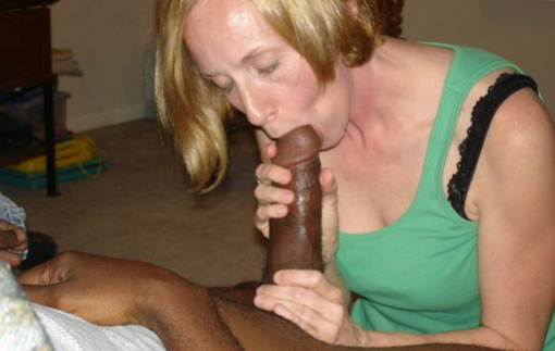 Blonde With Black Sex Photo