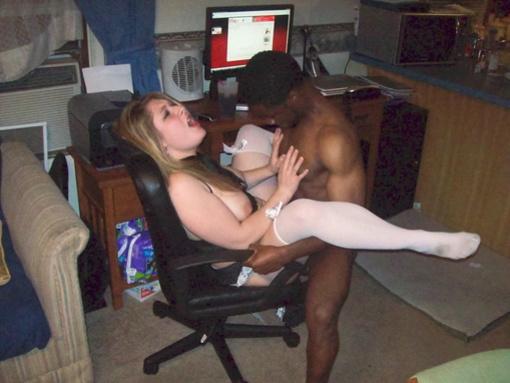Amateur Girlfriend Interracial Picture