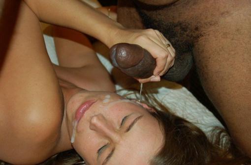 Free Photos Of Black Mans Penis Cumming on Wifes Face