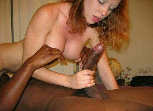 Black dick man white