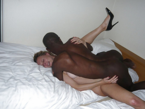 Interracial Missionary Sex Photo