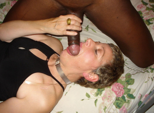 Blowjob Photo White Mom Sucking Black Cock