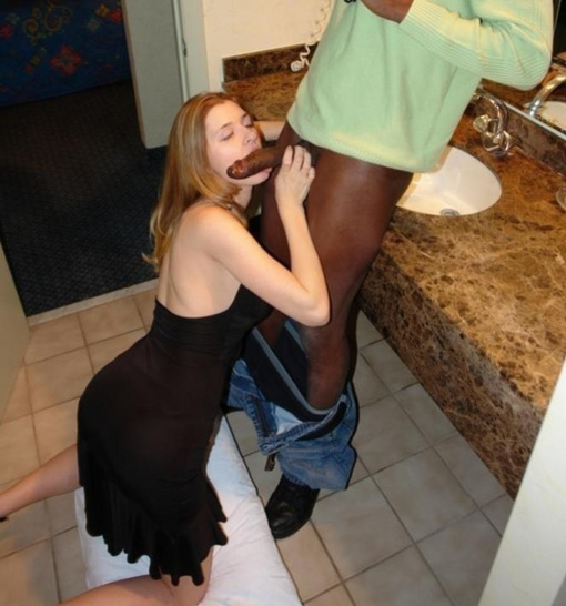 Nympho Housewife Licking Black Dick - Interracial Pictures