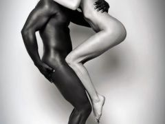 Retro Interracial Photo