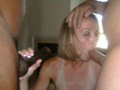 Gorgeous Blond Interracial Sex Photos