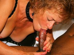 Mature Interracial Photos