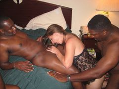 Interracial Double Sex Photo