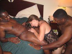 Interracial Double Sex Photo