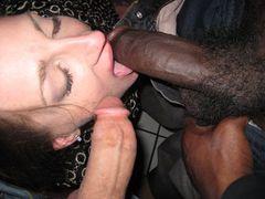 Wife Eats Black Cum Photos