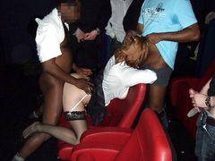 Amateur Gangbang Interracial Pics