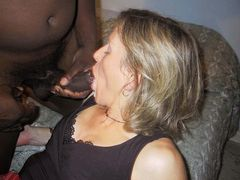 Amateur White Wives Sucking Big Black Dicks Pics