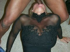 Pictures Of Blondes Deepthroating Black Cock