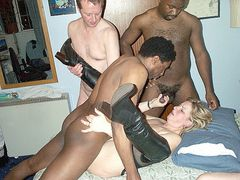 French Amateur Porn Gangbang Interracial Sex Pictures