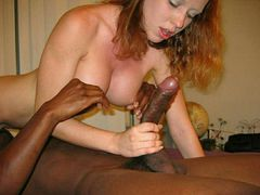 Black Dick Man and White Woman Photographs
