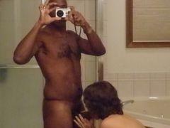 Photo Black Man Getting Sucked by White Girlfriend