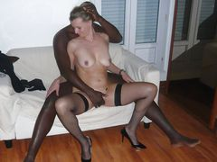 Interracial Fuck Picture Wife Mating with Black Man