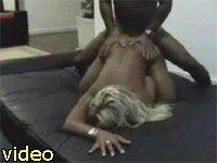 hot blonde sales girl anal penetration weekend