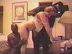 Amateur British HouseWife Has Orgasm with Blacks