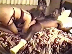 Interracial Wives Making Out First Time with Black Bulls