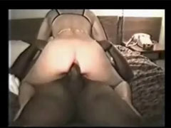 Wife Lets Husband Watch As She Tries Black Cock