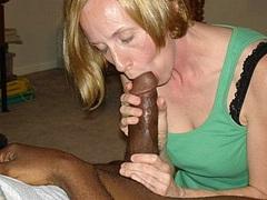 Pictures Of Blonde White Girls Sucking Fucking Black Cocks