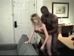 Quality Porn White Blonde With A Black Man In A Hotel Room