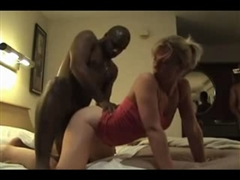 Cuckold Hubby Shared his Slutty Blonde Wife with BBC Stud