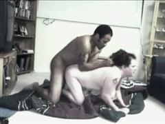 Black Dude Fucks White Pussy After Doing Interracial Dating