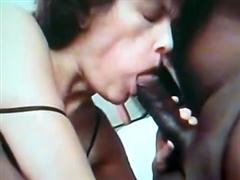 Teacher Sucks and Fucks Black Cock in Interracial Gangbang