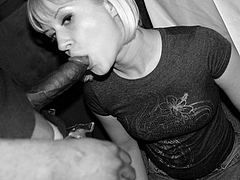 Photo Wife Sucking Big Black Cock