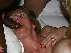 Double Black Penis Mature Sucking Pics