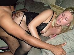 Pictures Of White Wife Having An Interracial Orgasm
