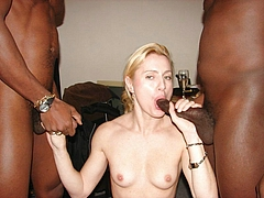 Pictures Of Two Black Guys Fucking A White Woman