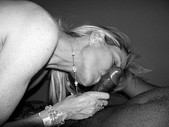 Hot Pictures Of White Woman Sucking Black Penis