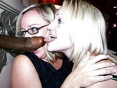 Whites On Black Interracial Threesome Porn Pics