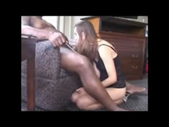 White Wife Slave Serving Her Black Master with Good Deep Fuck