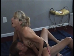 Nympho Wife Rides Friends Cock as Cuckold Husband Films