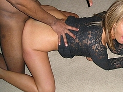 Married Woman Porn Picture Cheating with Black Friend