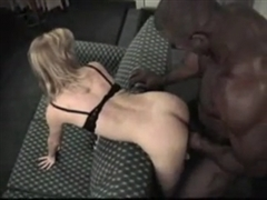 Beautiful Wife is Shared with a Black Man for Sex
