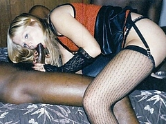 Picture White Slut Sucking Black Dick