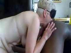 Black Cock Hungry Granny Used for Sex by a Black Man