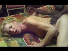 Mom Sucking Cock and Making Sex with a Black Man