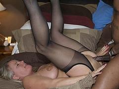 Photo Bareback Sex Black Man with Hot MILF