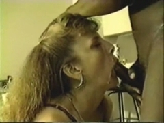 White Slut Wife Performs Rimming and Cum Swallow with BBC