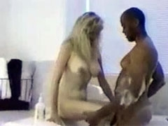 Young Blonde White Woman in BBC Hardcore Interracial Sex