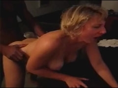 Husband Encourages Wife to be the Black Cock Whore