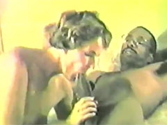Woman Trying to Get Big Black Cock to Penetrate Her
