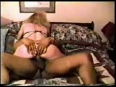 White Slutty Women Cheating with Black Men in Hotel