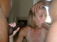 Gorgeous Blond Interracial Sex Photos